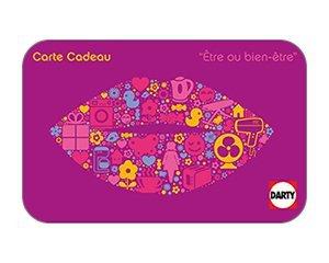 Darty: Cartes cadeaux Darty : jusqu'à 3% de réduction immédiate