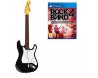 Auchan: Jeu Rock Band 4 sur PS4 - le jeu + la guitare à 49,99€