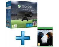 TopAchat: Console Microsoft Xbox One 500 Go + FIFA 16 + Halo 5 : Guardians pour 299,90€