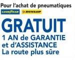 Vulco: 1 an de garantie et d'assistance crevaison offerte pour l'achat de pneumatiques