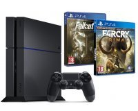Amazon: Pack PS4 1To + Far Cry Primal et Fallout 4 pour 429€