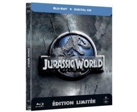 Amazon: Jurassic World édition limitée Steelbook Combo Blu-ray + Copie digitale à 9,35€