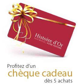 carte cadeau histoire d or Recevez 10% du cumul de vos 5 derniers achats en chèque cadeau