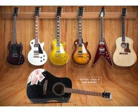 Woodbrass: Votre ancienne guitare reprise jusqu'à 1500€ pour l'achat d'une Gibson