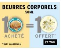 The Body Shop: 1 beurre corporel 50 ml acheté = 1 offert