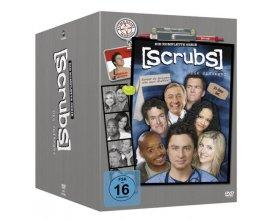 Zavvi: Coffret DVD de l'intégrale de la série Scrubs saison 1 à 9 à 28,75€