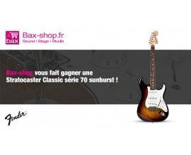 Audiofanzine: Une guitare Fender Classic Series 70s Stratocaster à gagner avec Bax-Shop