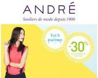 André: -30% sur une sélection d'articles pour femmes et hommes
