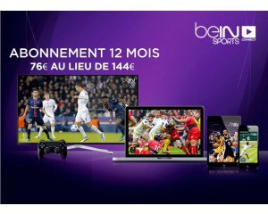 l 39 abonnement bein sports connect 6 mois 42 et 12 mois 72 au lieu de 144 vente priv e. Black Bedroom Furniture Sets. Home Design Ideas