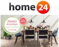 Home24: Offres de printemps : jusqu'à -50% sur une sélection + code - 10% suppl.