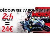 Moto Journal: L'abonnement de 6 mois au bi-mensuel Moto Journal pour 24€ au lieu de 47,80€