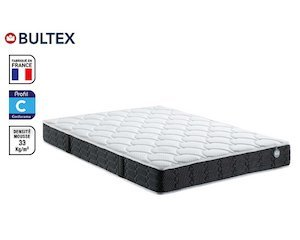 matelas mousse 140x190 cm bultex beryl 399 au lieu de 661 conforama. Black Bedroom Furniture Sets. Home Design Ideas