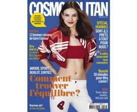 Kiosque FAE: Abonnement au magazine Cosmopolitan mensuel 21 N° à 12,70€ au lieu de 39,90€