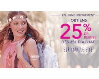 Claire's: -25% dès 35€ d'achats sur tout le site
