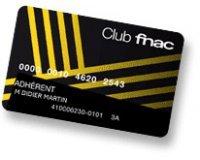 Fnac: Votre carte Fnac 100% remboursée pour 3 produits culturels achetés