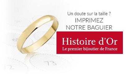 Code promo Histoire d'Or : 1 baguier gratuit pour mesurer votre tour de doigt
