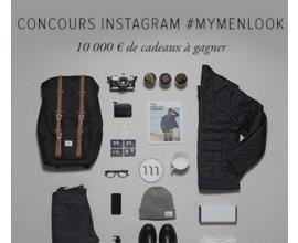 Menlook: 10000€ de bons d'achats à gagner sur Instagram