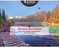 Aigle: 1 voyage au Canada pour 2 personnes à gagner