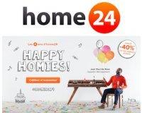 Home24: Jusqu'à -40% sur une sélection de produits