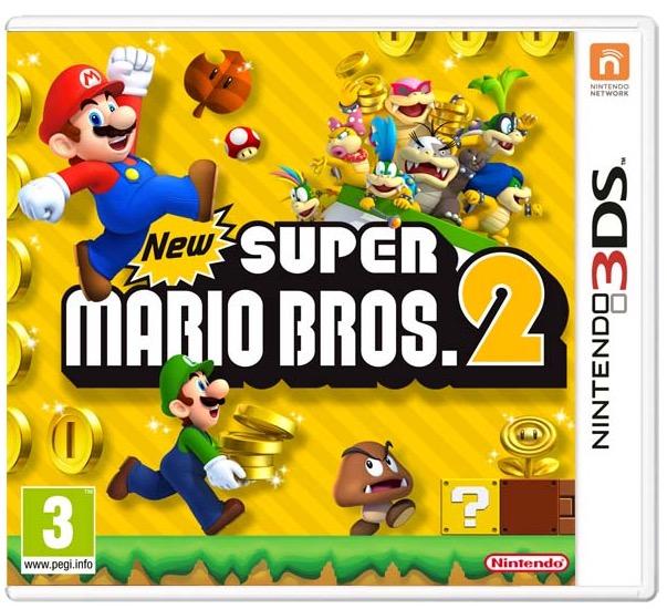 Code promo Amazon : 2 jeux 3DS achetés parmi une sélection = le jeu New Super Mario Bros. 2 offert