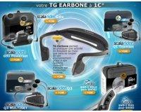 Cardy: Le casque audio TG earbone à 1€ pour l'achat d'un intercom Scala Rider