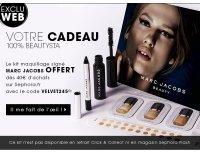 Sephora: Un kit de maquillage signé Marc Jacobs offert dès 40€ d'achats