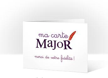 Un Cadeau D Anniversaire Offert Avec La Carte Fidelite Sergent Major