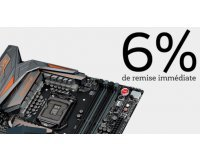 TopAchat: Économisez 6% sur toutes les cartes mères et les processeurs d'ordinateur