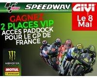 Speedway: 2 accès VIP à gagner pour le Moto GP du Mans le 8 mai 2016