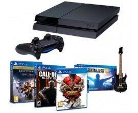 Cdiscount: PS4 1To + Street Fighter V + CoD BO III + Destiny + Guitar Hero Live à 419,99€