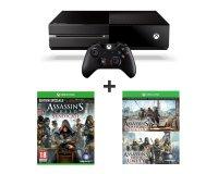 Auchan: Pack Console Xbox One + 3 jeux Assassin's Creed pour 299€