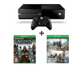 Auchan: Pack Console Xbox One + 3 jeux Assassin's Creed pour 299€