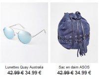 ASOS: -20% sur les sacs et accessoires