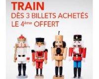 Voyages SNCF: Pack Tribu : 3 billets de train achetés = le 4ème offert