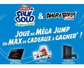 Joker: 3 tablettes Sony Xperia Z4, 5 consoles PS4 et 200 kits Angry birds à gagner