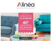 Alinéa: 40€ de remise immédiate tous les 100€ d'achats