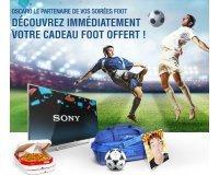 Oscaro: 10 TV Sony, des ballons de foot Adidas, des bons d'achat Alloresto, ... à gagner