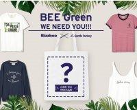 Bizzbee: Co-création BEE GREEN : 80 tote bags de la création gagnante