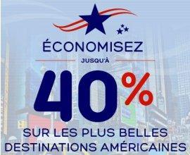 Hotels.com: Jusqu'à - 40% sur les destinations américaines