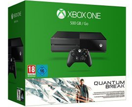 Amazon: Console Xbox One 500 Go + 2 jeux (Quantum Break & Alan Wake) à 249,9€