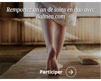 Le Figaro: 1 an de soins en duo avec Balinea.com à gagner