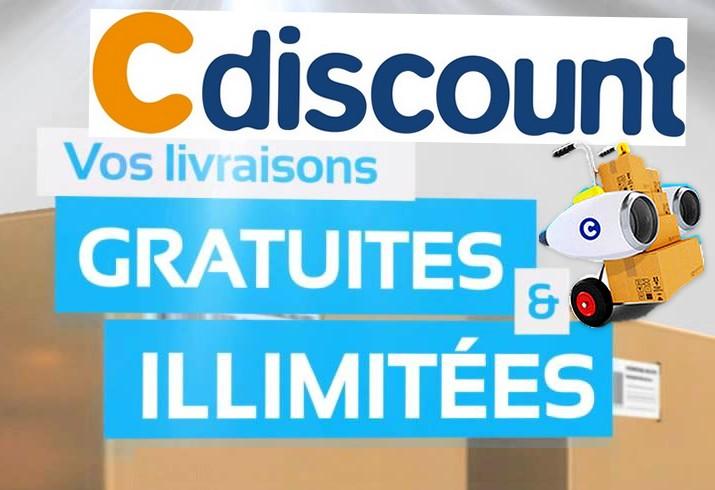 Code promo Cdiscount : Livraison gratuite dès le lendemain et à volonté pour 29€/an