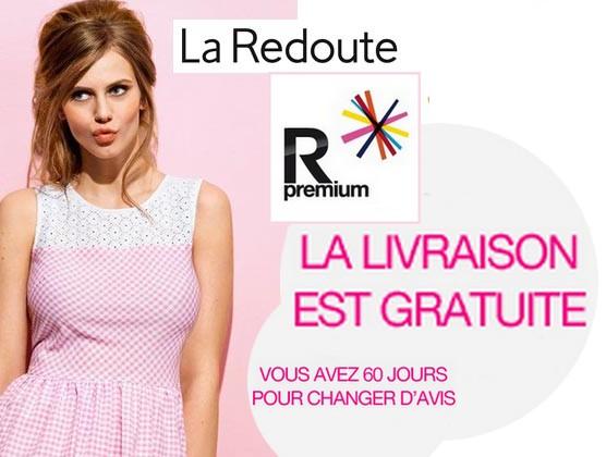 Code promo La Redoute : Frais de livraison offerts à volonté pour 15€/an avec R Premium