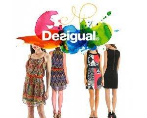 Amazon: Jusqu'à -60% sur une sélection de robes Desigual + Livraison GRATUITE