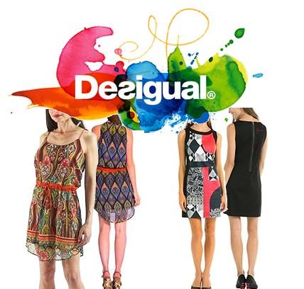 Code promo Amazon : Jusqu'à -60% sur une sélection de robes Desigual + Livraison GRATUITE