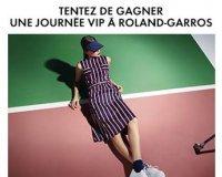 Elle: 1 journée VIP à Roland GARROS et des tenues la Redoute à gagner