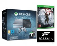 Amazon: Xbox One 1 To + Halo 5 + Rise of the Tomb Raider + Forza Motorsport 6 à 349€