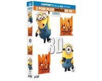 Amazon: Coffret Blu-Ray 3D trop moche et méchant : Moi, moche et méchant 1 et 2 à 11,99€