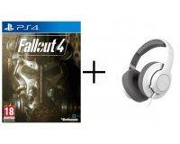Cdiscount: Jeu Fallout 4 sur PS4 + Casque Gaming Steelseries Siberia RAW à 36,99€