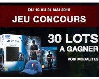 Cultura: 1 pack PS4 Uncharted 4 1 To, 14 jeux Uncharted 4 et des casquettes à gagner